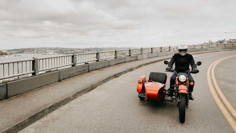 Ural electric motorcycle