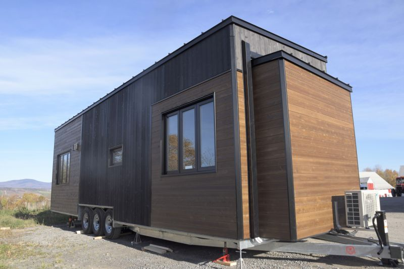 Magnolia tiny house on wheels