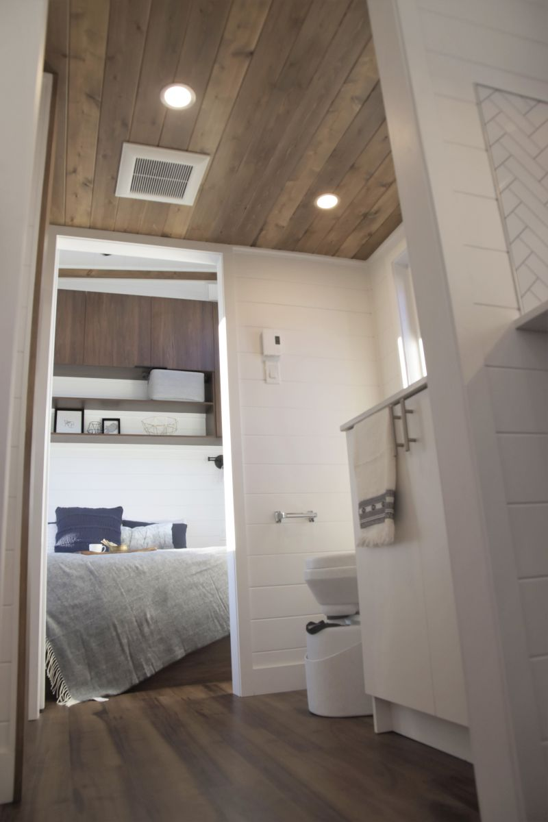 stylish tiny home on wheels