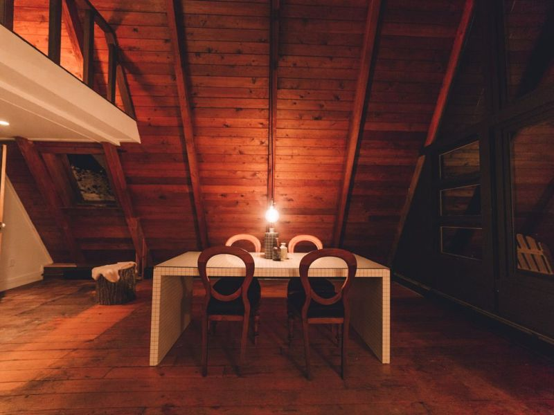 A-frame cabin in the Catskills for rent