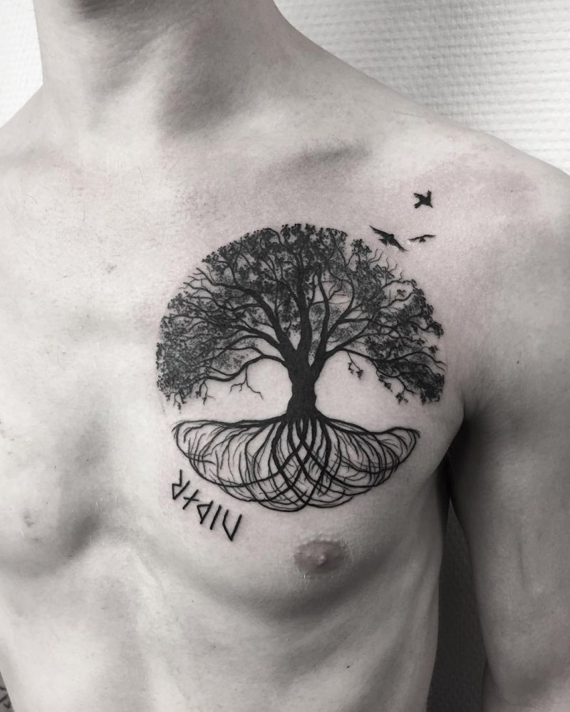 tree of life tattoo ideas
