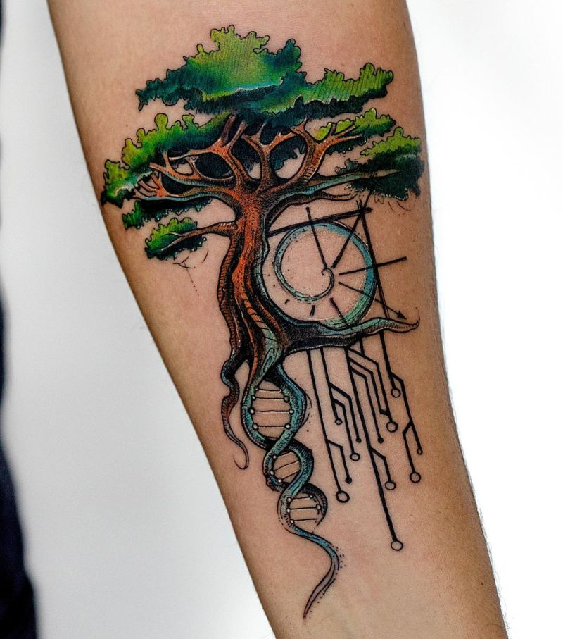 beautiful tree tattoos
