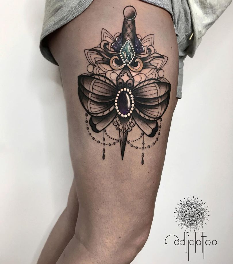 ornamental tattoo ideas