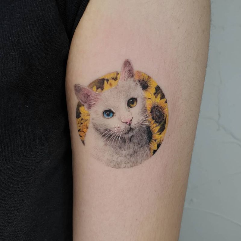 awesome cat tattoos