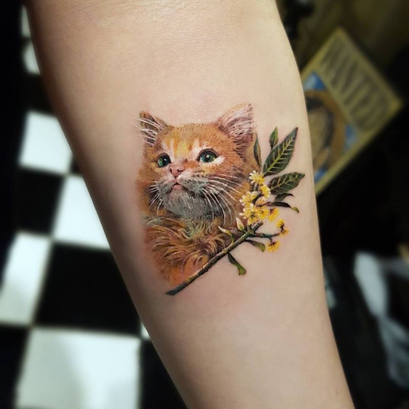 awesome tattoos for animal lovers