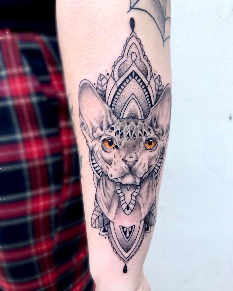 best cat tattoos