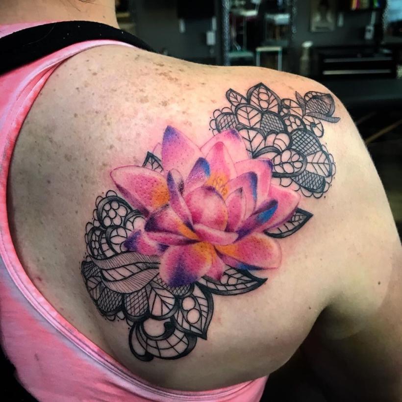 pink lotus symbolism