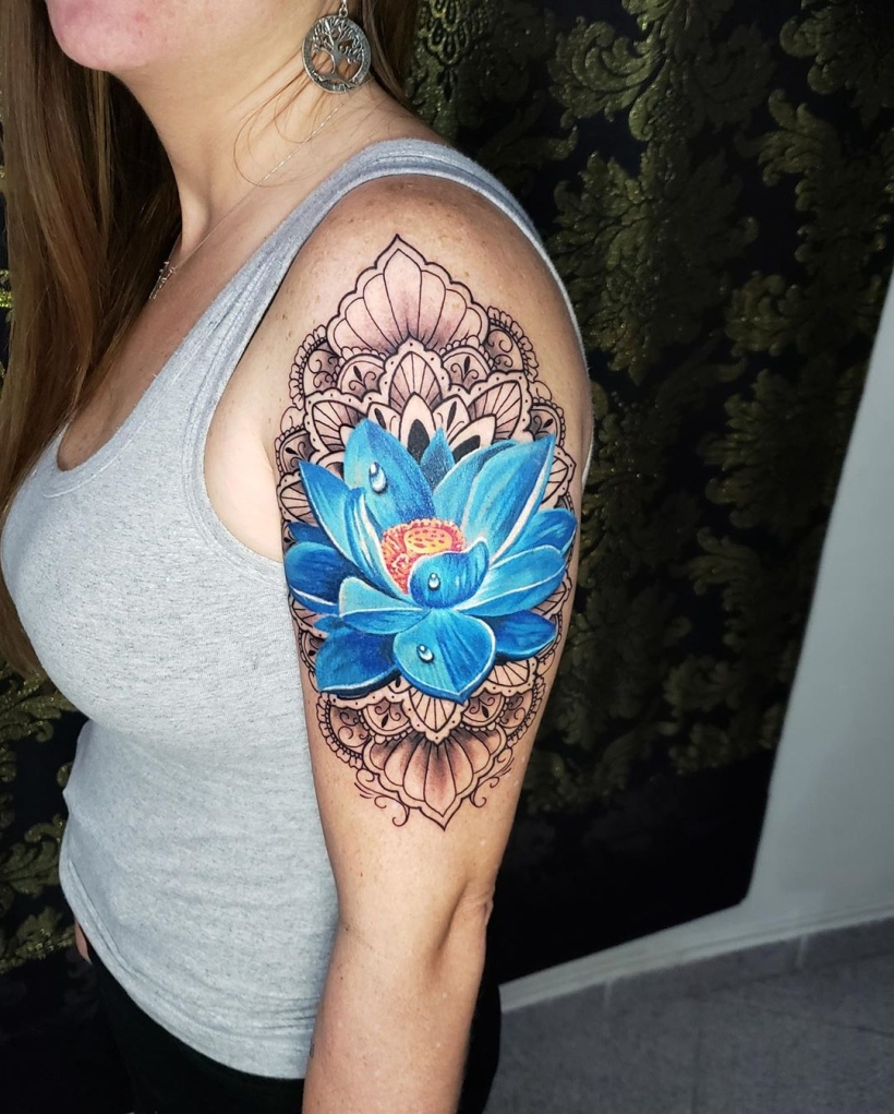 blue lotus symbolism