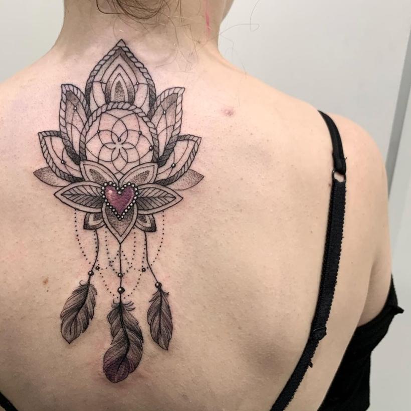 lotus dreamcatcher