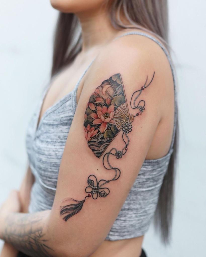 water lily tattoo ideas