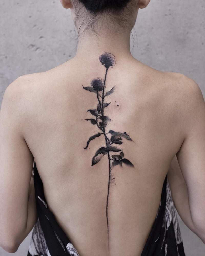 awesome watercolor ink piece