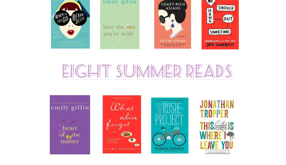 Eight Summer Reads