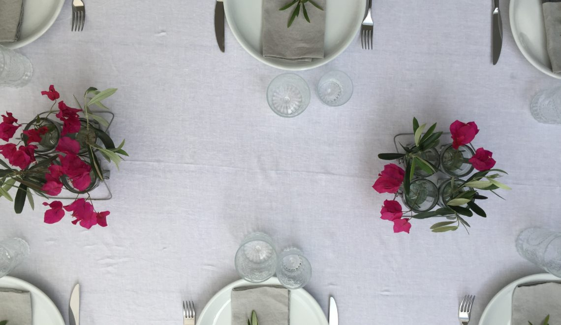 Tablescape I: Breakfast With The Girls