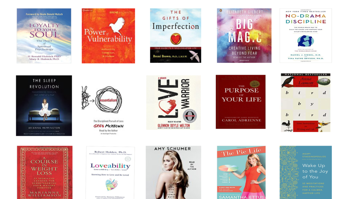 15 Books for 2017: Turn Your Intentions into Your Lifestyle