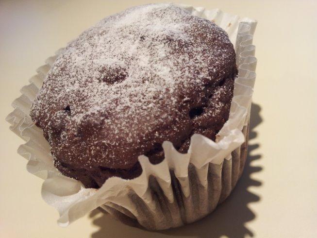 Perfect dark chocolate muffins