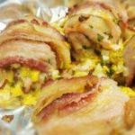 bacon corn stuffed chicken 320
