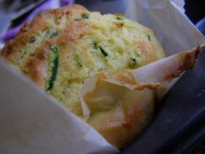 Gluten free Zucchini and Parmesan cheese muffins