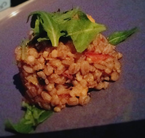 Eat like the ancients: Farro salad