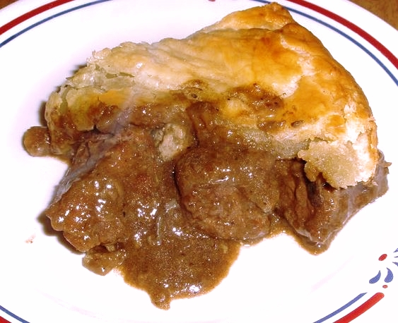 The best steak and Guinness pie, ever!