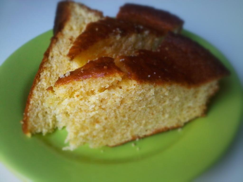 Polenta and cornbread