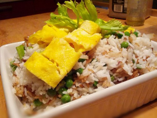 How to make easy egg fried rice