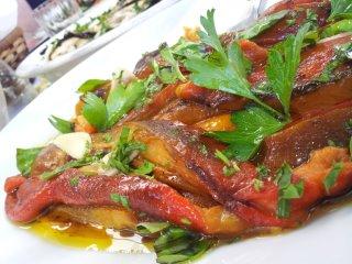 Roasted pepper salad