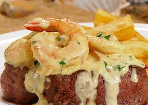 Oh yes! Surf 'n' turf