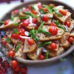 bread cherry tomato basil salad