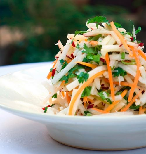 Coleslaw with jicama salad, Mexican-style