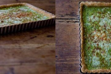 turnip green tart