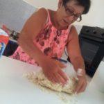 kneading gnocchi