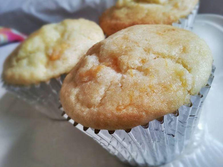 Gluten free mango and pineapple muffins
