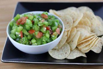 green pepper salsa