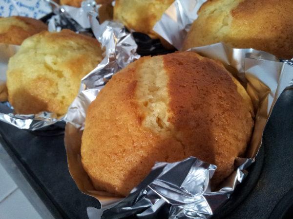 Gluten free orange and yogurt muffins