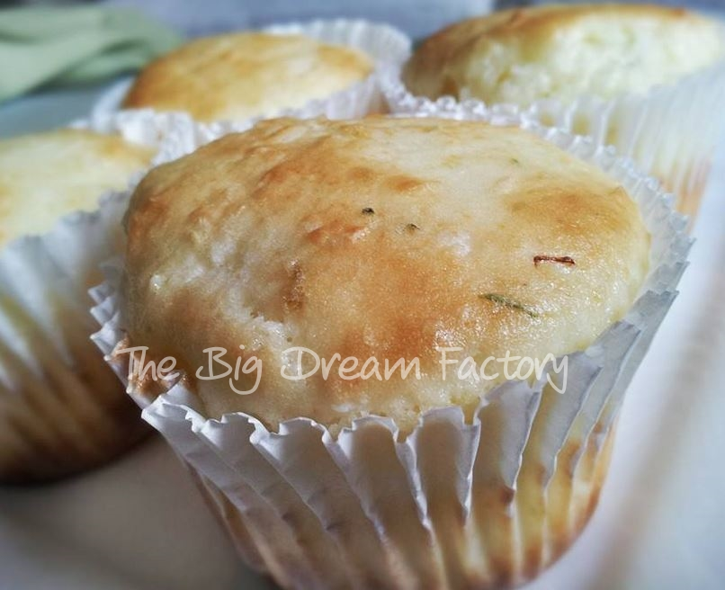 Lime and coconut gluten free muffins