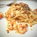 royal red shrimp with linguine