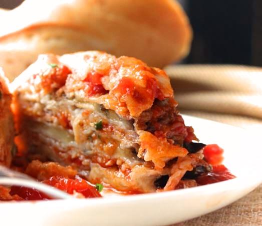 Eggplant parmesan – Napoletana style