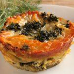 mini potato lasagna
