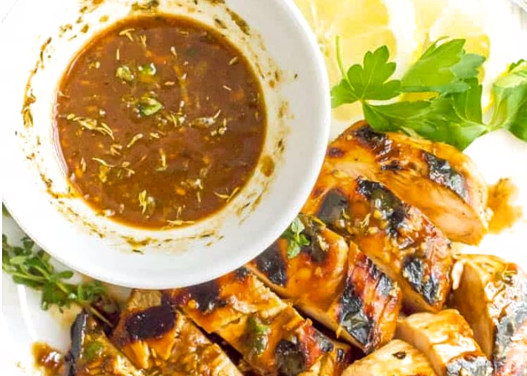 Balsamic and herb marinade