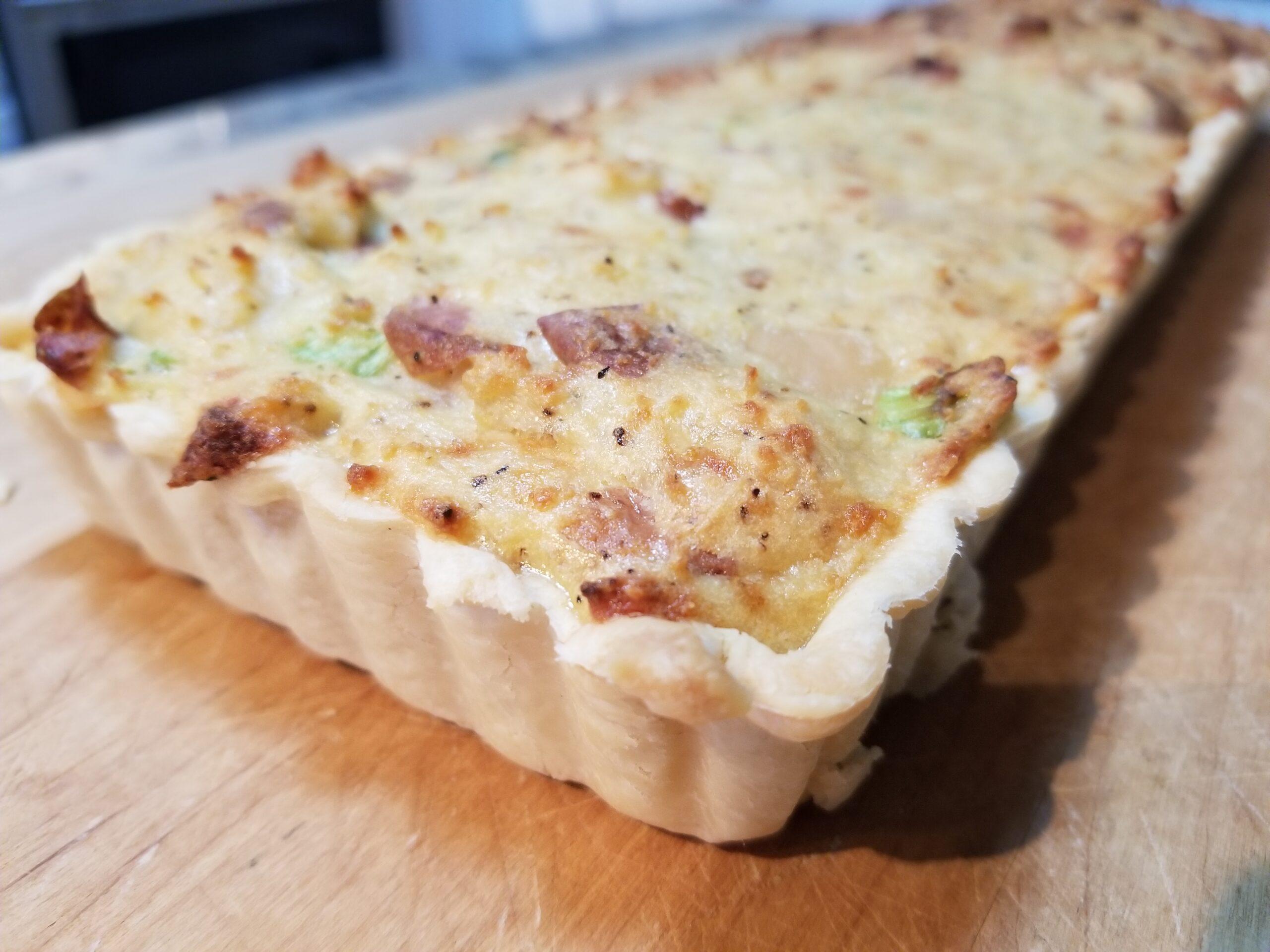 Cheese and potato pie