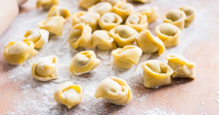 The original recipe for tortellini Bolognesi