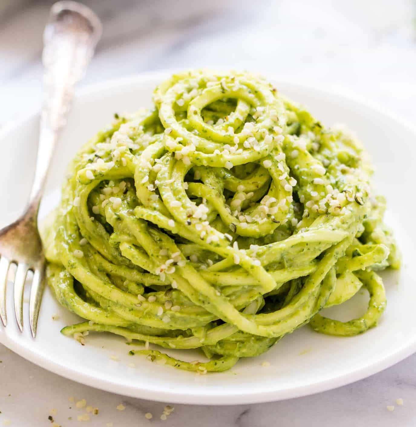 bavette with pesto alla genovese