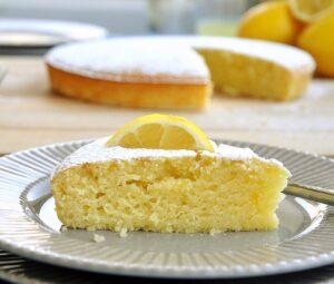 olive oil cake with lemon