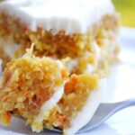carrot and coconut cake