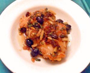 Etruscan chicken
