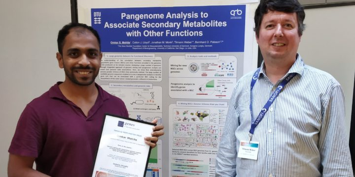 Omkar Mohite won a poster prize at GIM conference in Pisa, Italy