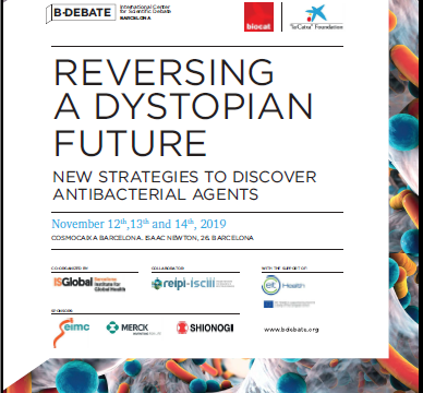 Olga Genilloud was a speaker at the B-Debate Reversing a dystopian future – New strategies to discover antibacterial agents in Barcelona, Spain
