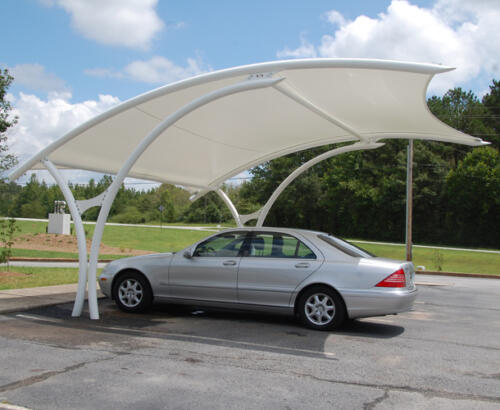 Single Carparking shed