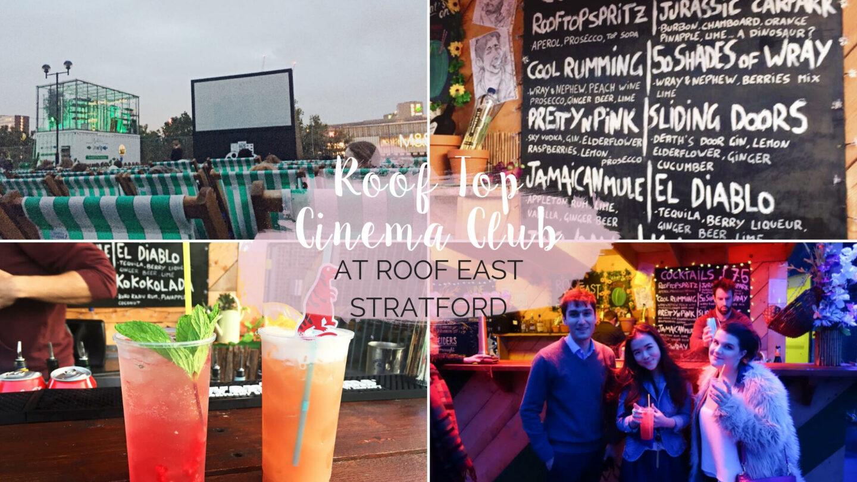 Roof Top Cinema Club at Roof East, Stratford || London