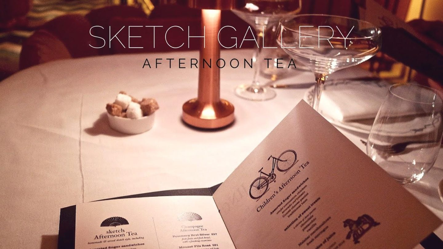 Afternoon Tea At Sketch || London